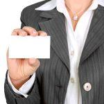 Привличане на внимание с визитни картички